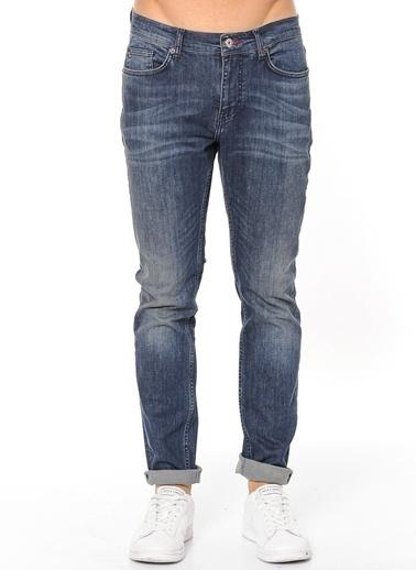 Mustang Jean Pantolon | Normal Bel Slim Mavi